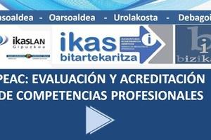 Acreditación de competencias para Certificados de profesionalidad: convocatoria