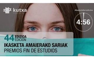 28 alumnas  y alumnos de Ikaslan Gipuzkoa reciben el Premio Kutxa
