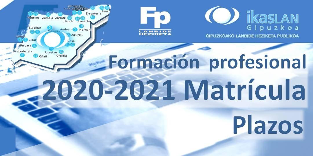 Matrícula FP,  2. Fasea: 1 septiembre -16 octubre
